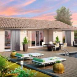 Villa plain pied avec jardin à Pézilla