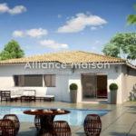 Villa neuve avec jardin à Tautavel