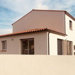 Terrain avec villa 105m² à Villelongue-dels-Monts