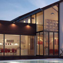 Mas Llaro : Villa contemporaine+jardin de 2 000m2