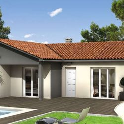 Villa plain pied avec jardin et garage à Trouillas